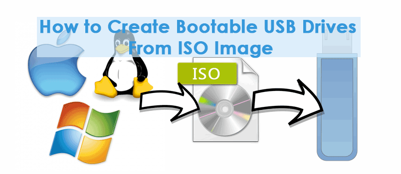 How to Create Bootable USB Drives From ISO Image